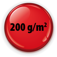 Button rot 200